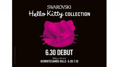 Hello Kitty Swarovski collection poster