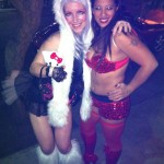 Hello Kitty fur costume