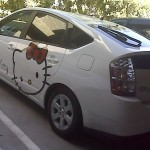 Hello Kitty prius