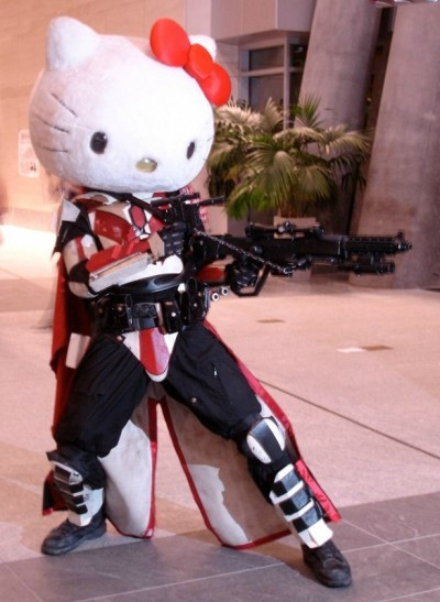 when Armageddon arrives, we will see this Hello Kitty