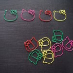 hello kitty paper clip