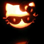 hello kitty pumpkin sunglasses