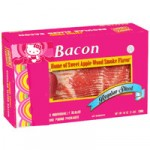 hello kitty bacon
