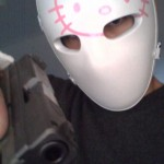 hello kitty bullet proof mask