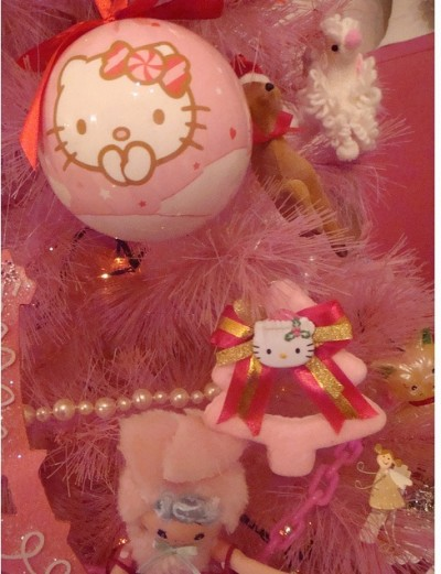 Hello Kitty Christmas ornaments