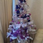 hello kitty purple christmas tree