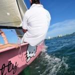 hello kitty sail boat