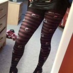 hello kitty heels and tights
