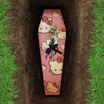 hello kitty coffin design