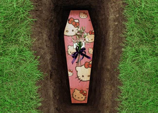 E' LA STAMPA  BELLEZZA!!!!!!! - Pagina 5 Hello-kitty-coffin-design