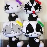 hello kitty kiss plush
