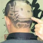 Hello Kitty haircut face