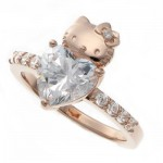 Hello Kitty love ring