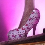 hello kitty face shoe
