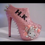hello kitty pink heels
