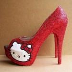 hello kitty red heels
