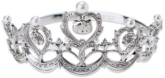 hello kitty tiara - Hello Kitty Wedding Ring