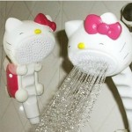 hello kitty showerhead