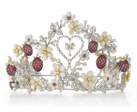 Hello Kitty ruby peal tiara