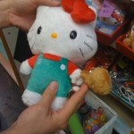 hello kitty chicken plush