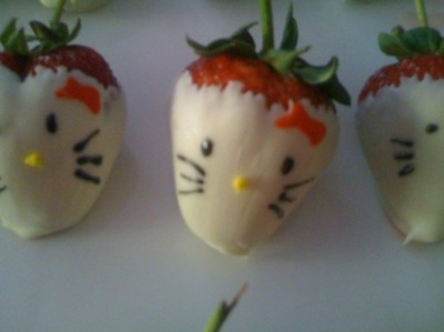 Hello Kitty strawberry
