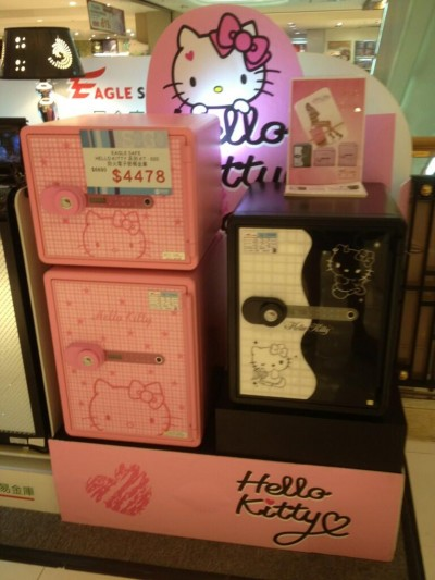 Hello Kitty safe