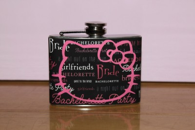 hello kitty wedding flask