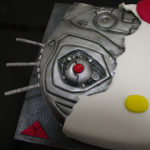 Terminator hello kitty cake