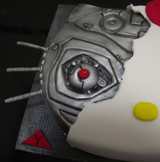 Cute terminator cake