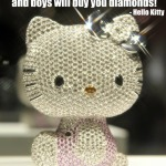 hello kitty diamond quote